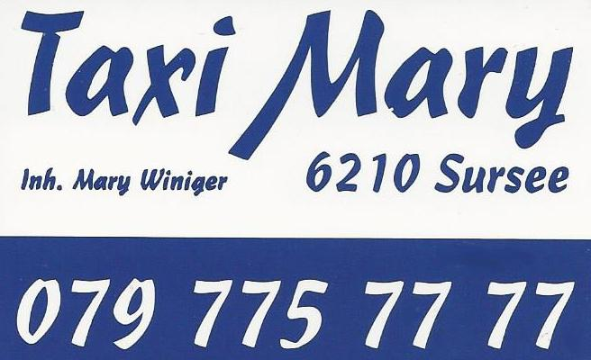 Taxi Mary Sursee 079 775 77 77 | Inh. Mary Winiger